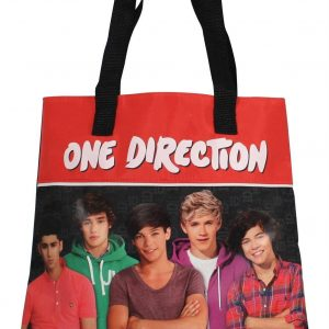 One Direction schoudertas-6x28x32 cm-Rood-One Direction-nvt