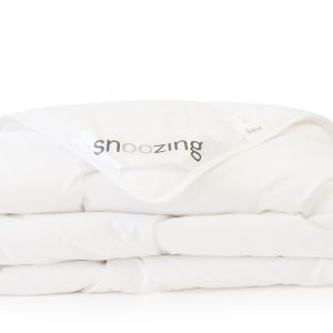 Snoozing Mont Blanc donzen zomerdekbed-2-persoons (200x200 cm)-Wit-Snoozing-Mont Blanc
